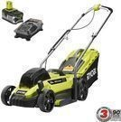 "Ryobi ONE+ 13"" 18-Volt Li-Ion Push Lawn Mower"