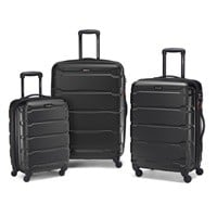 "Samsonite Omni 3pc Hardside Nested Luggage Spinner Set (20"", 24"", 28"") $239"