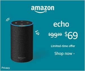 Save on Amazon Echo Devices