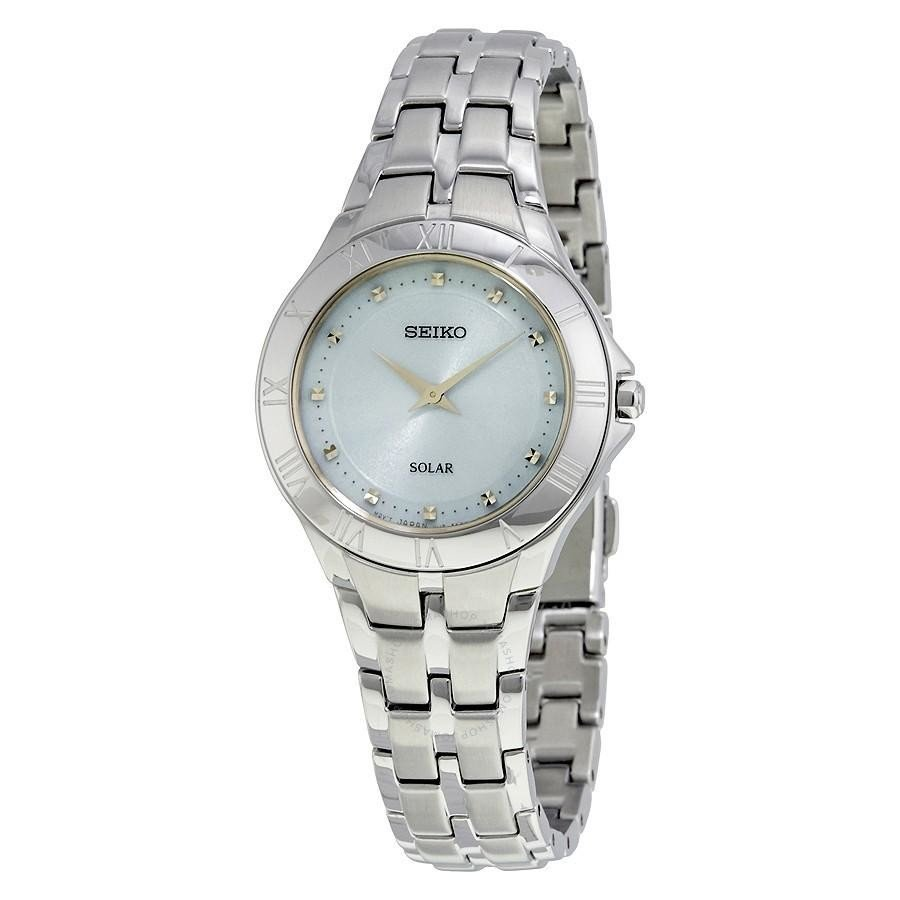 Seiko Recraft Blue Mother of Pearl Dial Quartz Ladies Watch $65 + free s/h