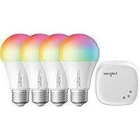 Sengled Smart LED Multicolor A19 Starter Kit (4-Pack)