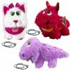 Set of 3 Baby Stuffies w/ Friendship Bracelets - Secret Pockets