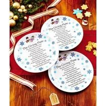 Set of 3 Melamine Giving Plates Now $9.98