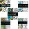 Set of 5 Stress Less Coloring Books