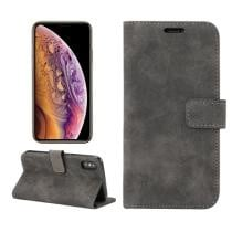 Sheep Bar Material Horizontal Flip PU Leather Case for iPhone XS Now $2.97