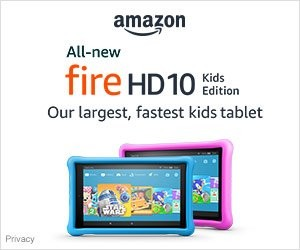Shop Amazon Devices - All-new Fire HD 10 Kids Edition | Christmas Gifts Idea