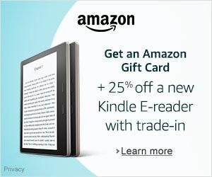 Shop Amazon Devices - Trade-in Your Kindle, Get 25% Off a New Kindle + Gift Card | Christmas Gifts Idea