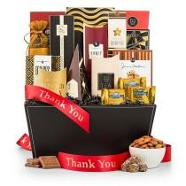 Sincerest Thanks Gourmet Gift Basket Now $39.95