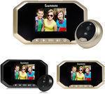 Smart LCD Door Camera Peephole Viewer
