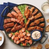 Smoked Salmon Appetizer Sampler Now $76