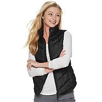 SO Juniors' Puffer Vest $13.99 + Free Shipping (or pick-up) **Kohl's Cardholders**