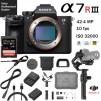 Sony a7R III 42.4MP Mirrorless Camera w/ DJI Ronin-S 3-Axis Gimbal Essentials Kit