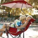 Sport Brella: Portable Sun Shelter Recliner Folding Chair
