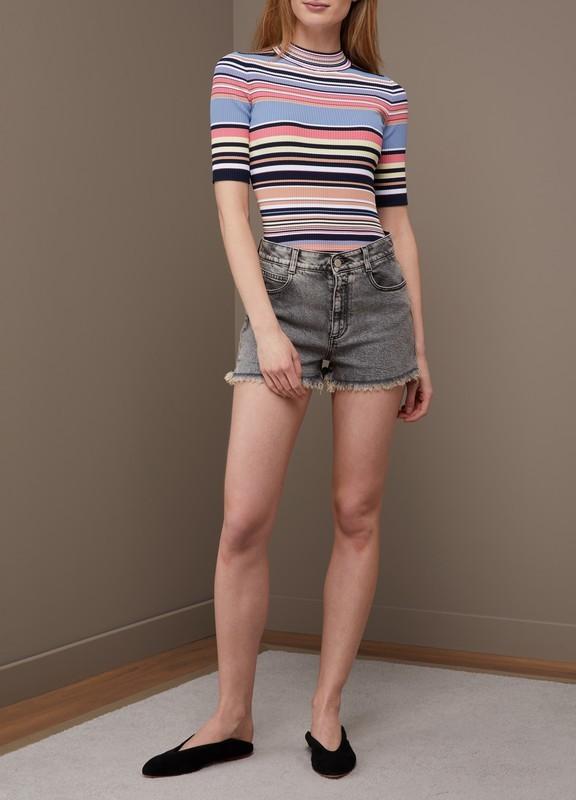 Stella McCartney Sale: Denim shorts 70% off