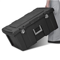 Sterilite 16-Gallon Footlocker w/ Rolling Wheels $20.98