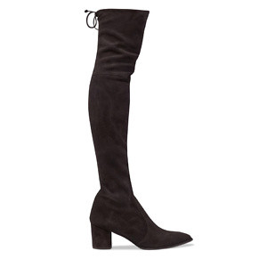Stuart Weitzman Thighland Suede Over-The-Knee Boots