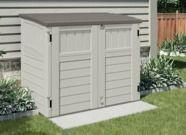 Suncast 34 cu. ft. Horizontal Storage & Utility Shed