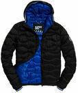 Superdry Wave Quilt Mens Jacket Black