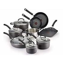 T-fal Hard Anodized 14-Piece Cookware Set Now $83.99