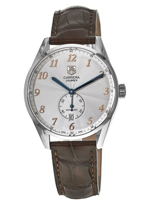 Tag Heuer Carrera Calibre 6 Small Seconds Automatic Watch $1750 + free s/h
