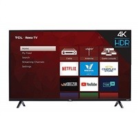 "TCL 50S425 50"" 4K HDR Roku Smart LED HDTV (2018 Model) $319.99"