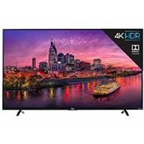 TCL 55 Inch 4K UHD Dolby Vision HDR Roku Smart TV Now $399.99