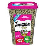 Temptations Cat Treats 16oz various flavors B1G1 effectively $4.25 each at Petsmart