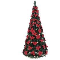 The 6 Pop-Up Poinsettia Tree Now $69.95