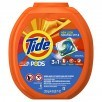 Tide PODS 3 in 1 HE Turbo Laundry Detergent Pacs, 81 Count Tub