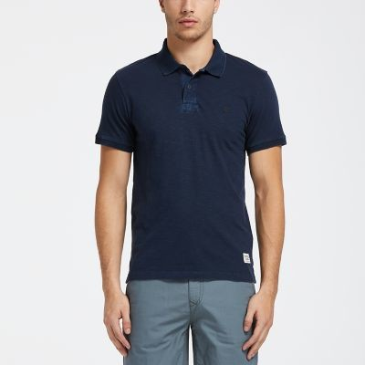 Timberland Men's Herring River Slim-Fit Jersey Polo Shirt $15 + free shipping