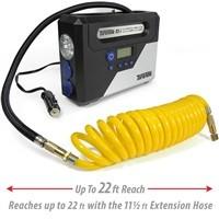 TireTek RX-i 12v Portable Tire Inflator w/ Auto Shut Off & 22ft Hose $28.76
