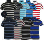 Tommy Hilfiger Men's Striped Custom Fit Polo (9 Colors)