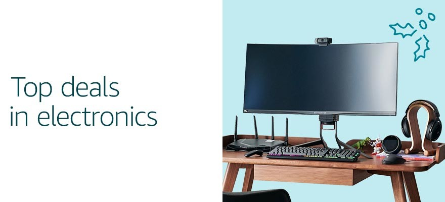 Top deals in electronics | New Year's Resolutions Deals
