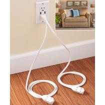 Turn 1 to 6 Convenient Split Extension Cord Now $5.99 + Free Shipping