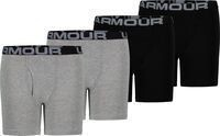 Under Armour Boys' Core Cotton Boxer Briefs 4 Pack