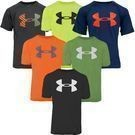 Under Armour Boys' UA Logo Short Sleeve T-Shirt 3-pack