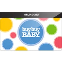 Up to 0.3% off Buy Buy Baby (Online Only) Gift Cards from Raise.com