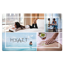 Up to 0.5% off Hyatt Gift Cards from Raise.com