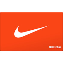 Up to 0.7% off Nike Gift Cards from Raise.com