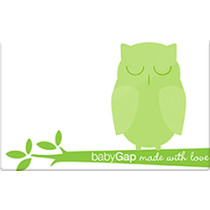 Up to 3.4% off Baby Gap Gift Cards from Raise.com