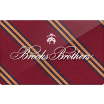 Up to 1% off Brooks Brothers Gift Cards from Raise.com