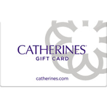 Up to 16.6% off Catherines Gift Cards from Raise.com
