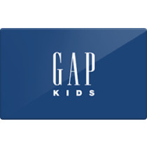Up to 1% off Gap Kids Gift Cards from Raise.com