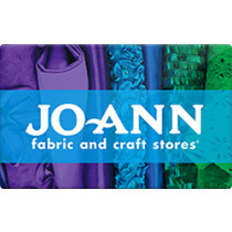 Up to 1% off Jo Ann Fabrics Gift Cards from Raise.com