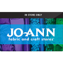 Up to 1% off Jo Ann Fabrics (In Store Only) Gift Cards from Raise.com