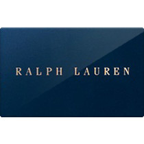 Up to 1% off Ralph Lauren Gift Cards from Raise.com