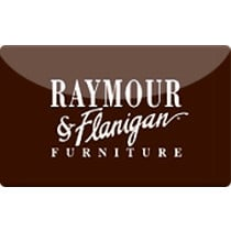 Up to 1% off Raymour & Flanigan Gift Cards from Raise.com