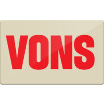 Up to 3% off Vons Gift Cards from Raise.com