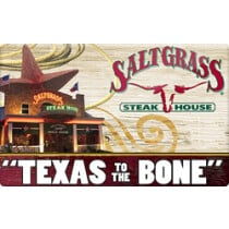 Up to 14% off Saltgrass Gift Cards from Raise.com