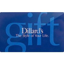 Up to 11% off Dillard's Gift Cards from Raise.com
